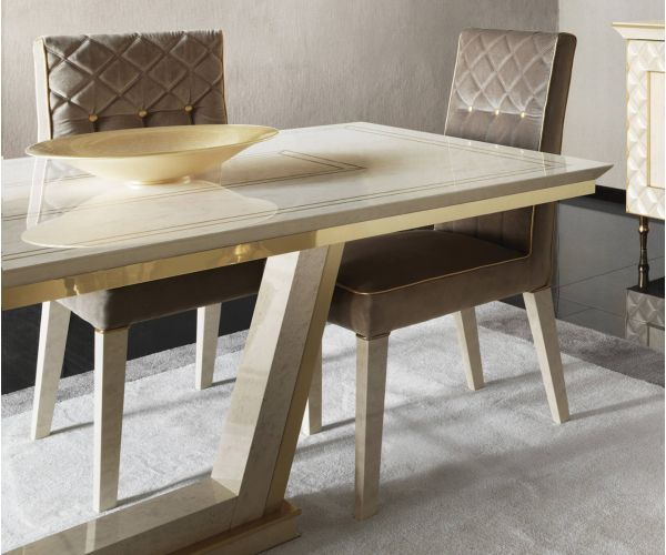 Arredoclassic Sipario Italian Rectangular Extension Dining Table