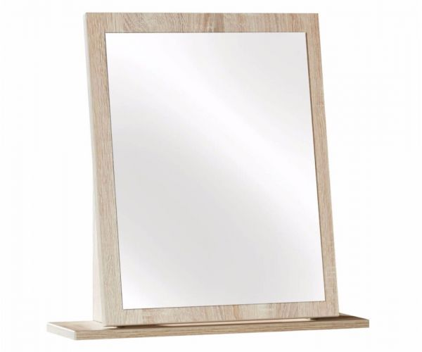 Welcome Furniture Monaco Natural Finish Small Mirror