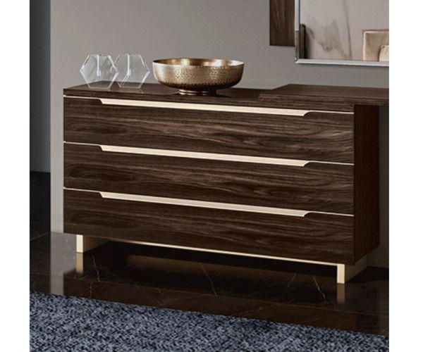 Camel Group Smart Walnut 3 Drawer Single Dresser