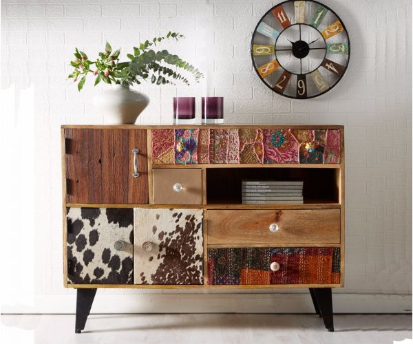 Indian Hub Sorio 3 Door 4 Drawer Sideboard