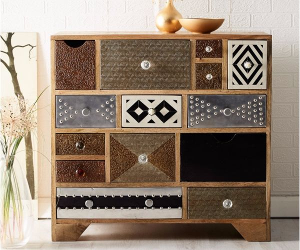 Indian Hub Sorio Multi Drawer Chest