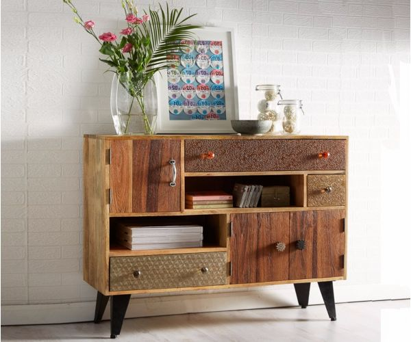 Indian Hub Sorio 3 Door 3 Drawer Sideboard