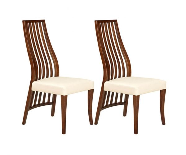 Furniture Line Sorrento High Back Dining Chair in Pair