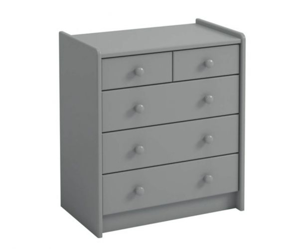 Steens Kids Grey 2+3 Drawer Chest