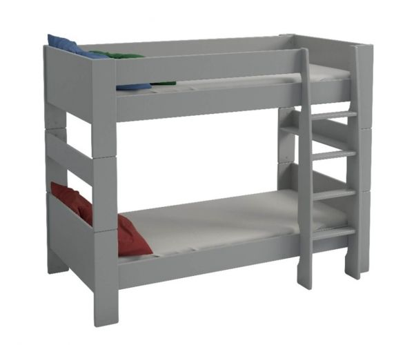 Steens Kids Grey Bunk Bed Frame