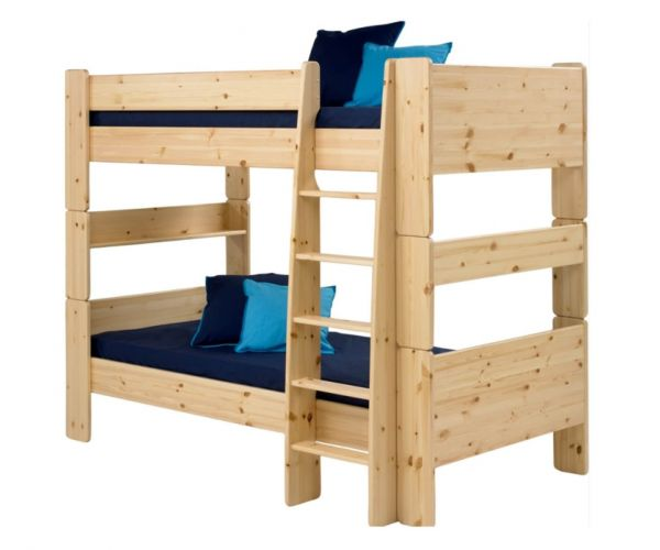 Steens Kids Solid Pine Bunk Bed Frame