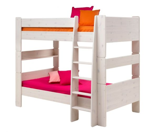 Steens Kids Whitewash Bunk Bed Frame