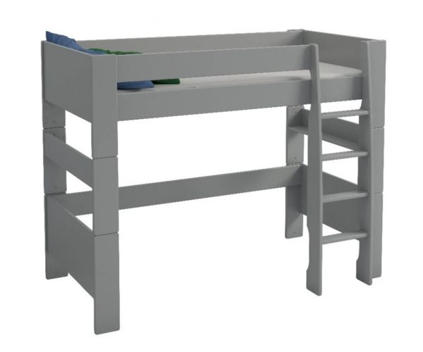 Steens Kids Grey High Sleeper Bed Frame