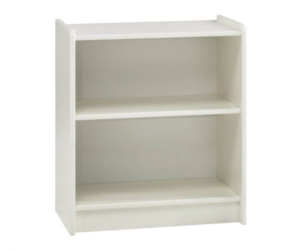 Steens Kids White Low Bookcase