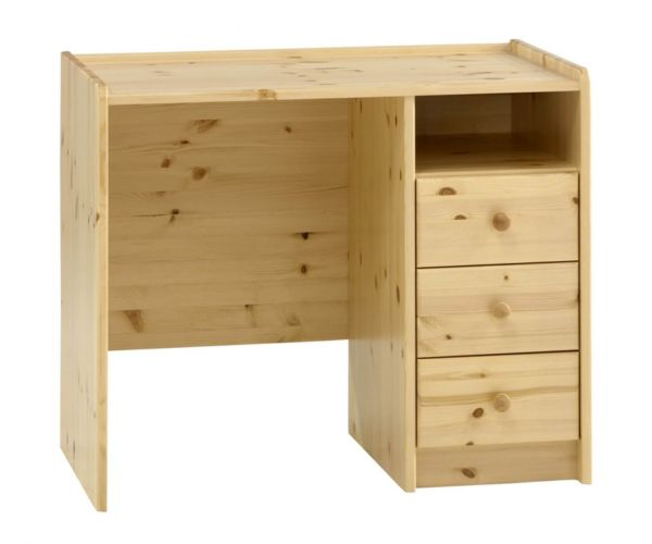 Steens Kids Solid Pine 3 Drawer Desk
