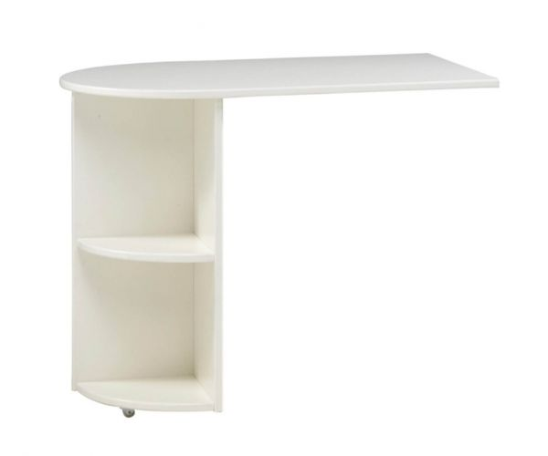 Steens Kids White Pull Out Desk for Mid Sleeper