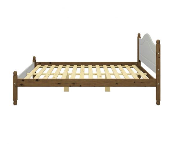 Steens Richmond Grey and Pine Bed Frame