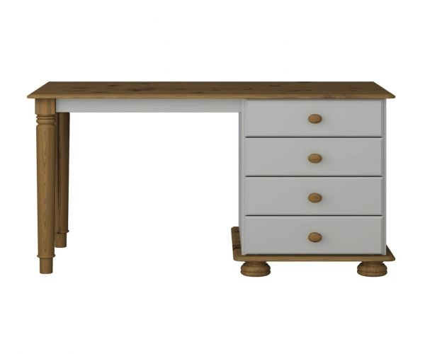 Steens Richmond Grey and Pine Dressing Table