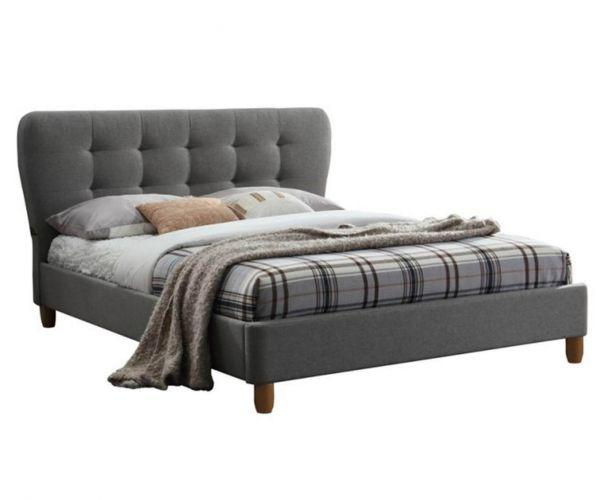 Birlea Furniture Stockholm Grey Fabric Bed Frame