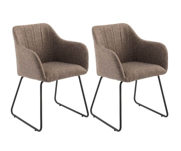 Derrys Furniture Stork Charcoal Armchair in Pair