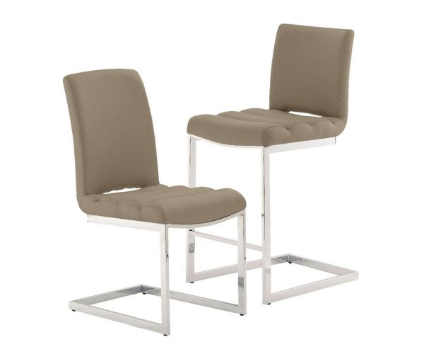 Derrys Furniture Storm Taupe Bar Chair in Pair