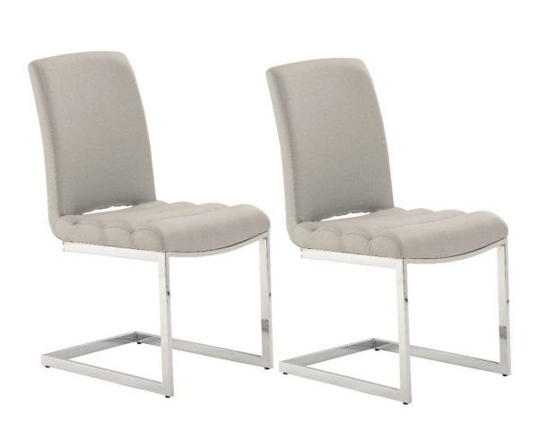 Derrys Furniture Storm Grey Dining Chair in Pair