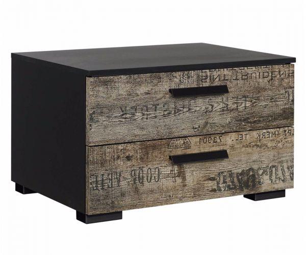 Rauch Furniture Sumatra 2 drawer bedside
