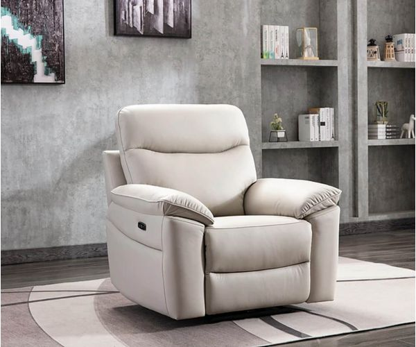 GFA Tahiti Mushroom Leather Chair