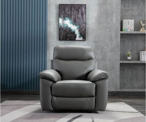 GFA Tahiti Granite Leather Chair