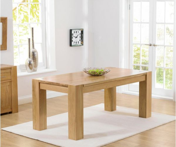 Mark Harris Tampa Solid Oak Small Dining Table Only