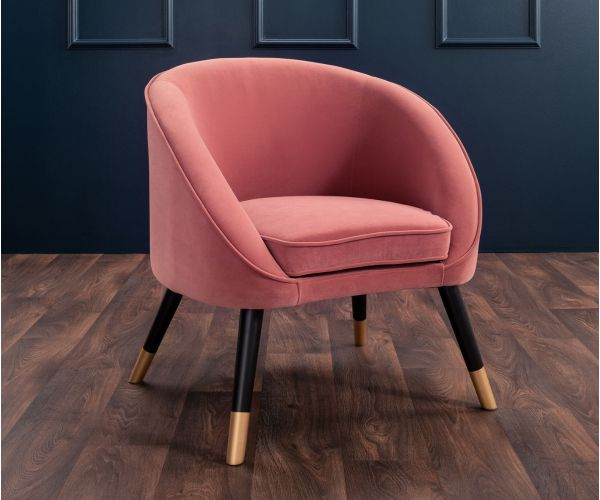 Derrys Furniture Oakley Pink Tub Chair