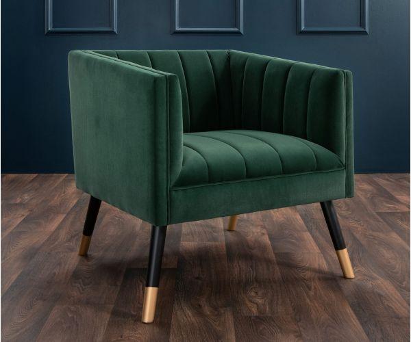 Derrys Furniture Jackson Green Tub Chair