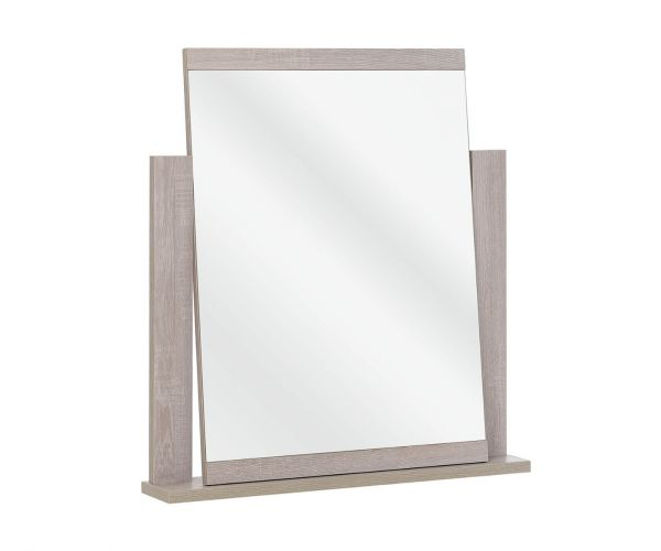 Gami Thelma Ceruse Oak Standing Mirror