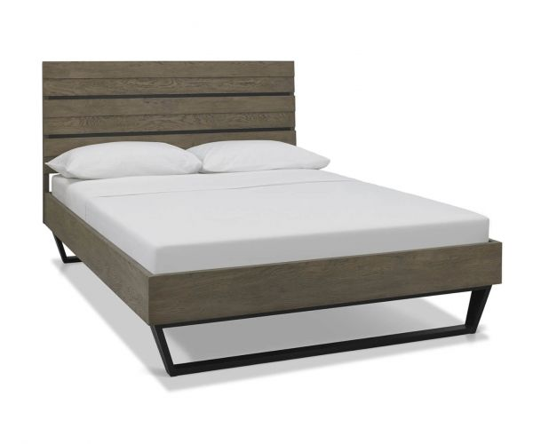 Bentley Designs Tivoli Weathered Oak Low Footend Bed Frame