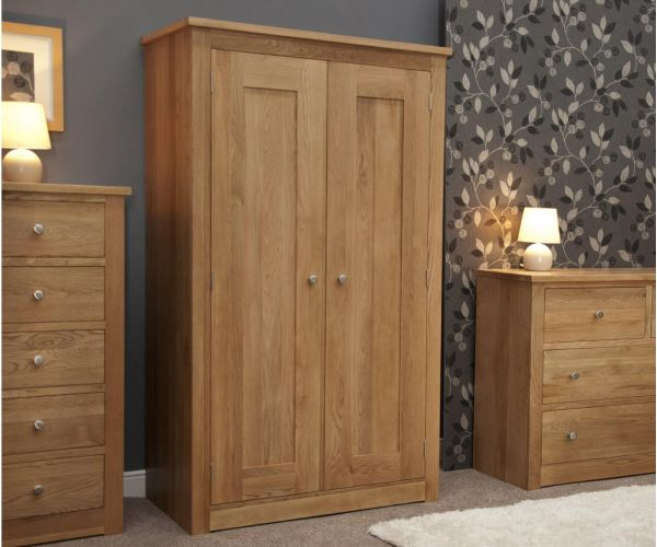 Homestyle GB Torino Oak Double Wardrobe