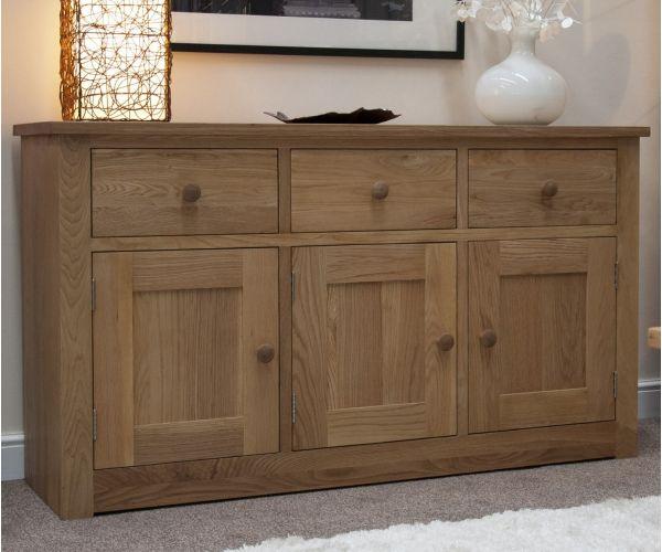 Homestyle GB Torino Oak Large Sideboard