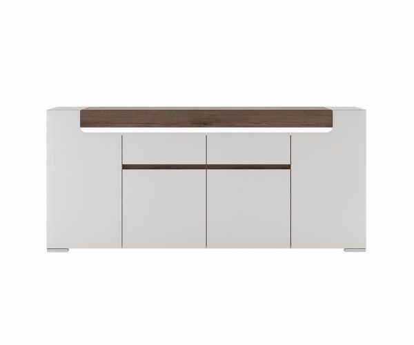 FTG Toronto Wide 4 Door 2 Drawer Sideboard