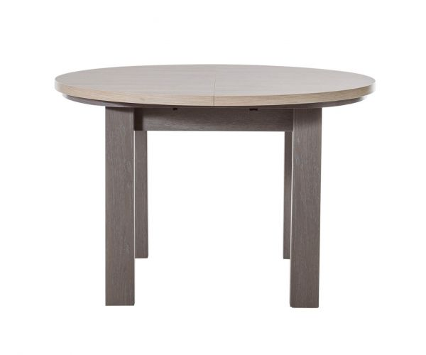 Gami Toscane Baroque Oak Round Extension Dining Table