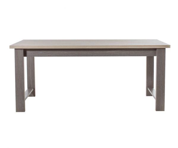 Gami Toscane Baroque Oak Rectangular Dining Table