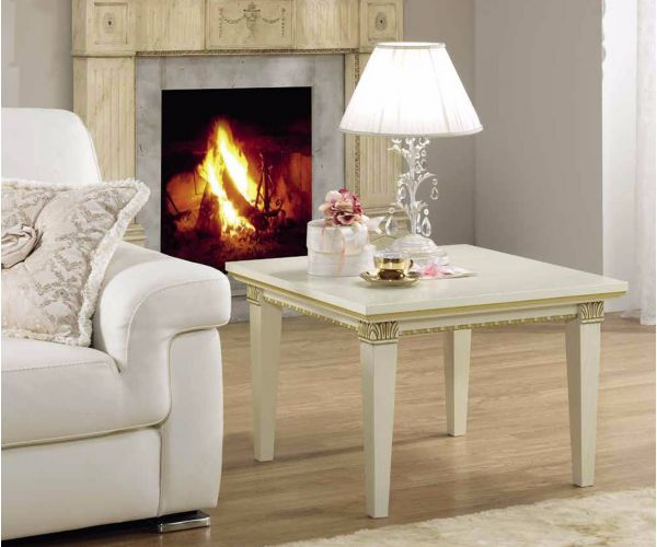 Camel Group Treviso White Ash Finish Lamp Table
