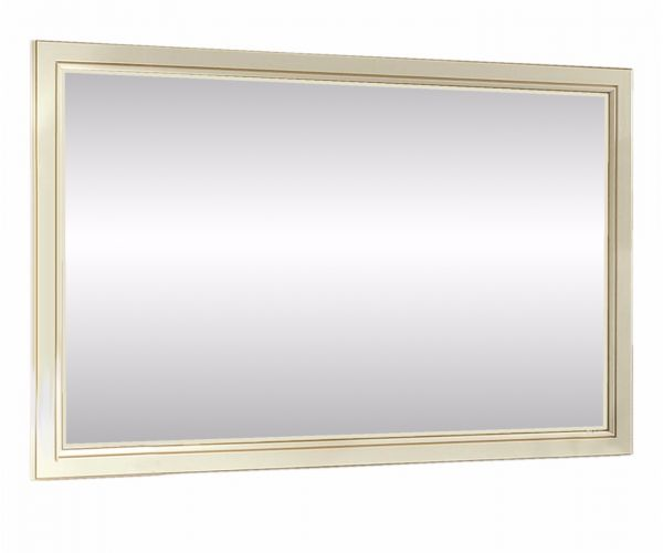 Camel Group Treviso White Ash Finish Buffet Mirror