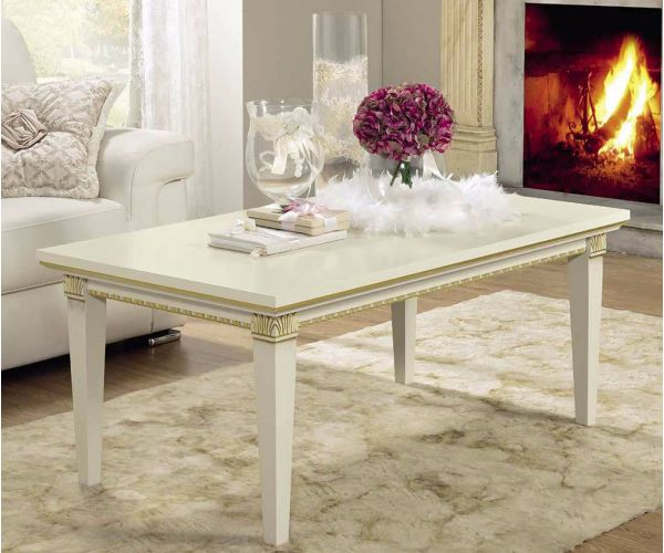 Camel Group Treviso White Ash Finish Coffee Table