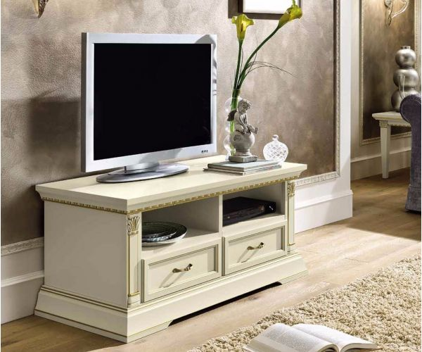 Camel Group Treviso White Ash Finish Small TV Cabinet