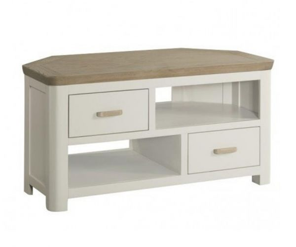 Annaghmore Treviso Painted Corner TV Unit