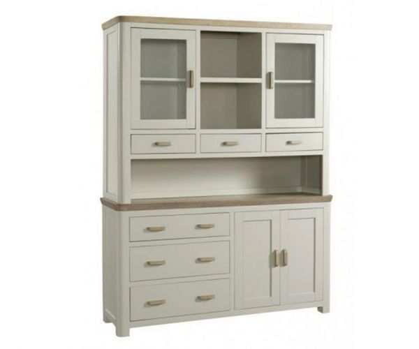Annaghmore Treviso Painted Large Buffet Hutch