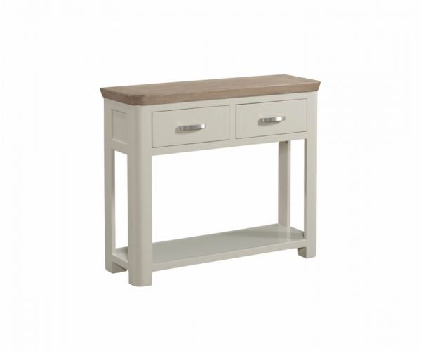 Annaghmore Treviso Painted Large Console Table with Drawer
