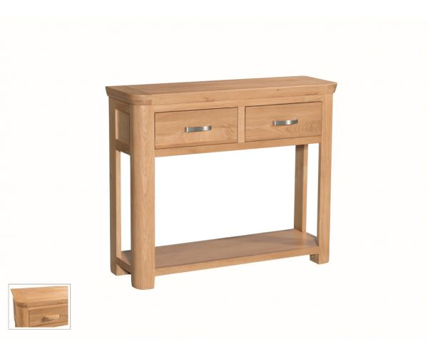 Annaghmore Treviso Large Console Table with Drawer