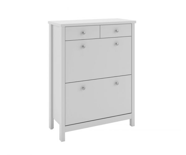 Steens Tromso White Shoe Cabinet