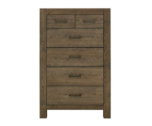 Bentley Designs Turin Dark Oak 4+2 Drawer Chest
