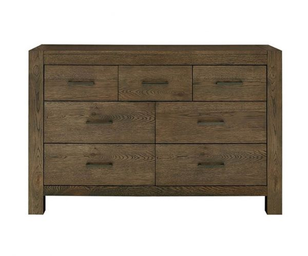 Bentley Designs Turin Dark Oak 4+3 Drawer Chest