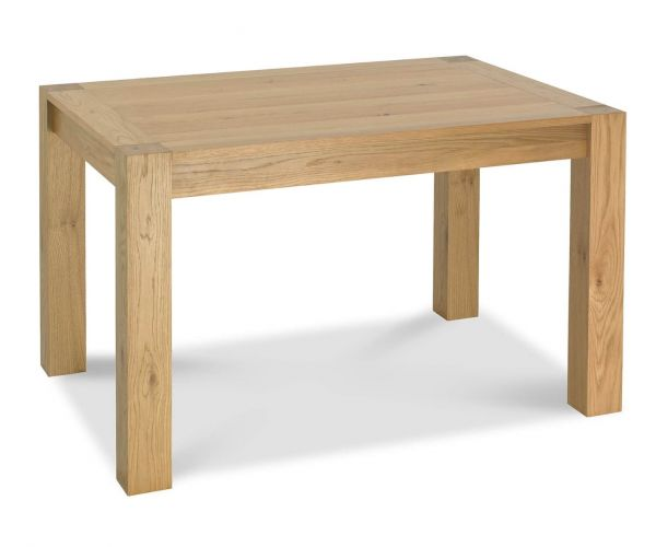 Bentley Designs Turin Light Oak Small End Extending Dining Table