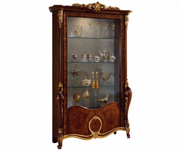 Arredoclassic Donatello Italian 2 Door Display Cabinet