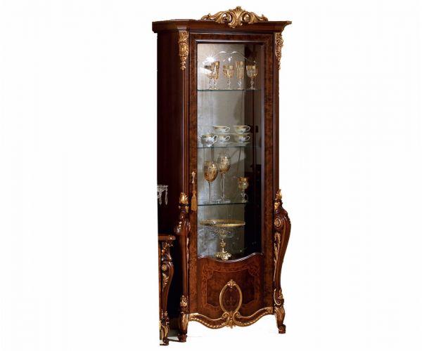 Arredoclassic Donatello Italian 1 Door Display Cabinet