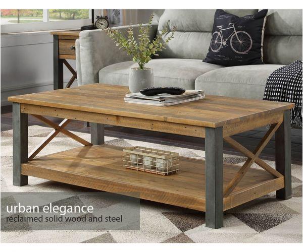 Baumhaus Urban Elegance Reclaimed Coffee Table