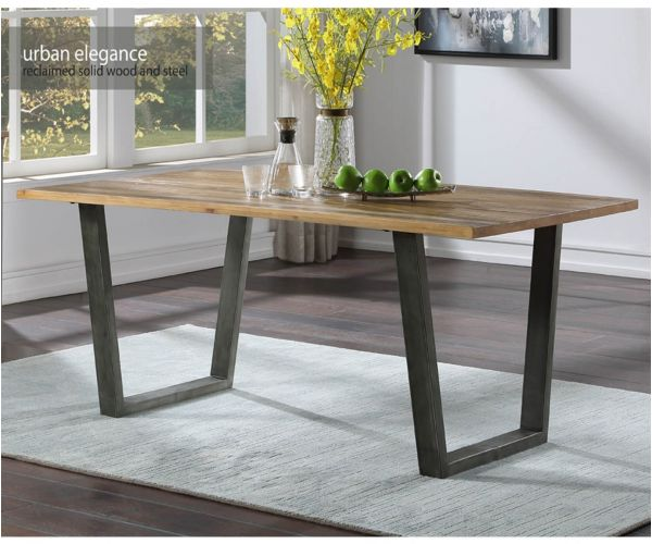 Baumhaus Urban Elegance Reclaimed Dining Table Only